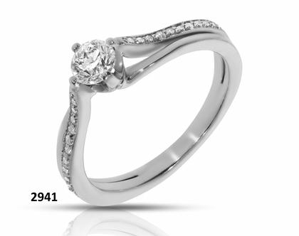 טבעת זהב אירוסין