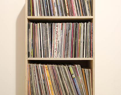 ספריית תקליטים מעץ, מתקן תקליטים, מעמד תקליטים, ספרית תקליטים