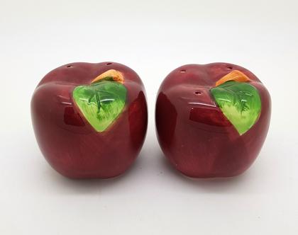 סט מלחיות - תפוחים אדומים