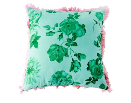 RICE DK | כרית כותנה מרובעת בהדפס ורדים ירוקים