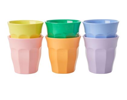 """כוס מלמין אספרסו צבעי """"LET'S SUMMER"""""""