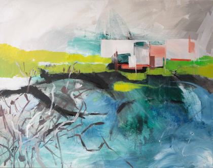 """""""הבית על האגם"""" של האמנית גנית פורטוגלי"""
