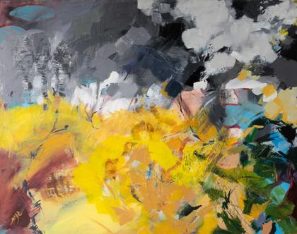 """""""שמש רענן אפור"""" של האמנית גנית פורטוגלי"""