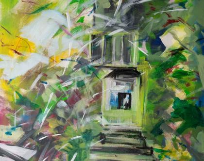"""""""במעלה המדרגות"""" של האמנית גנית פורטוגלי"""