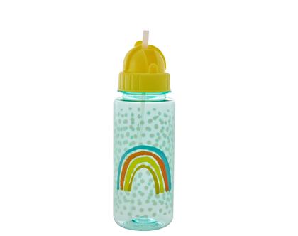 בקבוק ילדים מפלסטיק קשת וכוכבים קטנים