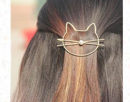 סיכת חתול מיוחדת לשיער
