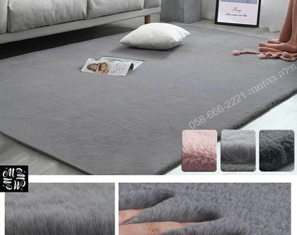 שטיח פרווה צפופה איכותית דגם מרלין - צבעים ומידות לבחירה