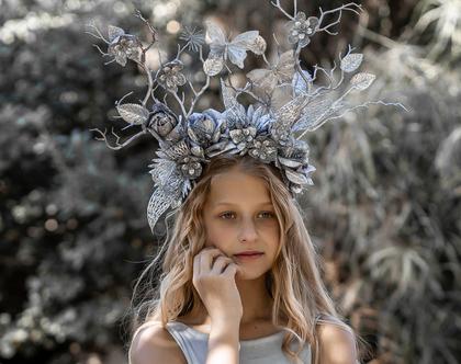 Creative Fantasy|תחפושות|תחפושת|כתר|כתר פרחים|תחפושת לפורים|קשת פרחים|זר פרחים|זר יום הולדת|זר לראש|זרים לראש