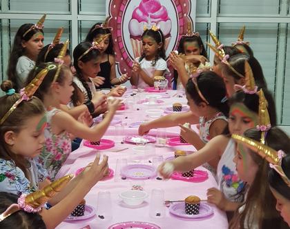 סדנת בצק סוכר - מסיבה מתוקה