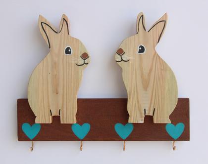 מתלה ארנבים לחדר ילדים/תינוקות