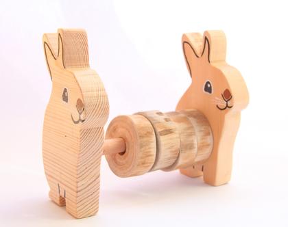ארנבים בטבע צעצוע לתינוק