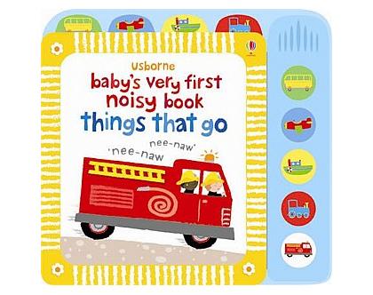 ספר צלילים לתינוק כלי רכב