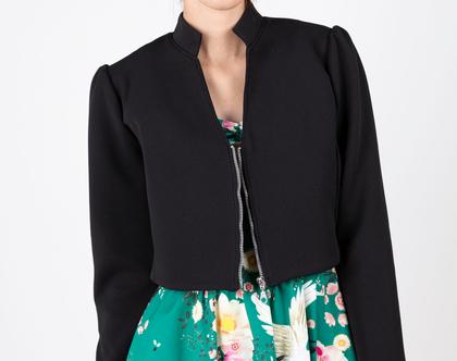 ג׳קט לונה שחור , עליונית לשמלת ערב, ג׳קט לערב, ג׳קט מחוייט