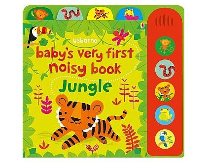 ספר צלילים לתינוק ג'ונגל