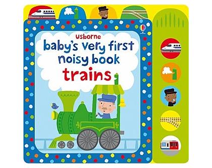 ספר צלילים לתינוק רכבות