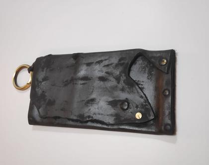תיק ערב מעוצב, תיק שחור מיוחד, תיק עור לערב, תיק עור שחור, תיק שחור מיוחד