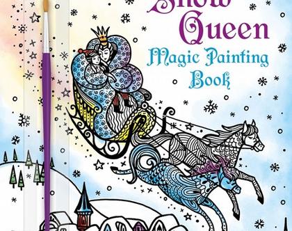 צביעת קסם-מלכת השלג