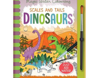 צביעת קסם רב פעמית דינוזאורים