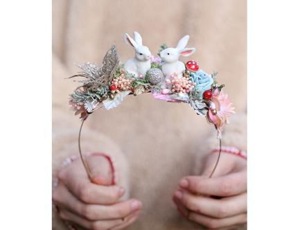 משלוח חינם בדואר רשום! קשת ארנבונים לבנים לשיער. קשת פרחים לשיער. קשת לשיער לכלה. קשת פרחים. קשתות לשיער. קשתות פרחים. קשת פרחים.