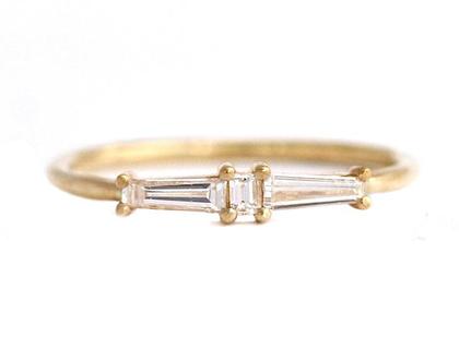 טבעת אירוסין מצרר יהלום-ארט דקו