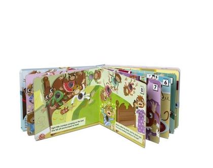 ספר אינטרקטיבי קופים קטנים