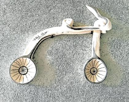 פסל קיר (אופניים)