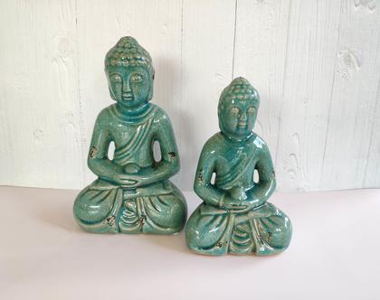 פסל בודהה יושב קטן/גדול