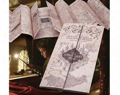 """מפה מיוחדת של בי""""ס לקוסמים"""