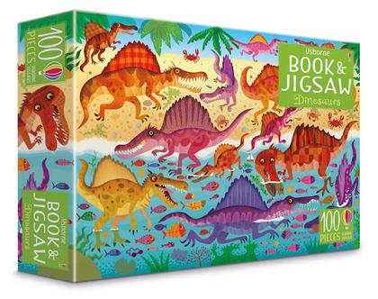פאזל 100 וספר דינוזאורים