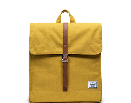 תיק גב הרשל צבע חרדל Arrowwood Crosshatch City Backpack | Mid-Volume