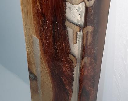 מזוזה מעץ אלון