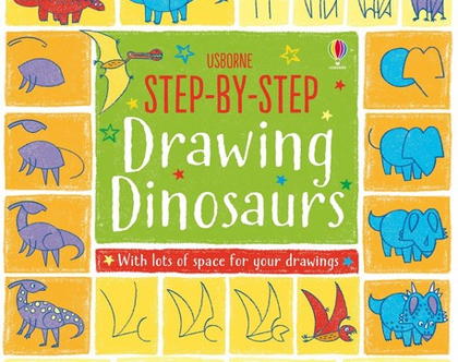 לומדים לצייר דינוזאורים