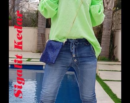 ג׳ינס נוח, מכנסי ג׳ינס עם גומי, ג׳ינס מיוחד