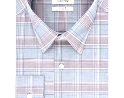 Calvin Klein | חולצת משבצות אפור/תכלת קלווין קליין