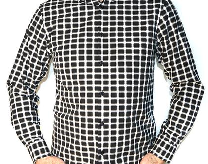 Alfani | חולצת משבצות אלפני