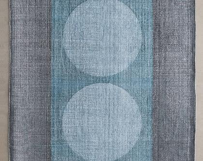 שטיח בוהו טורקיז