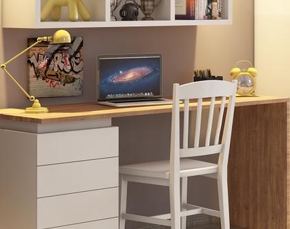 """שולחן כתיבה הראל רוחב 120 ס""""מ"""