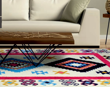 AS שטיח כותנה דגם ראגו