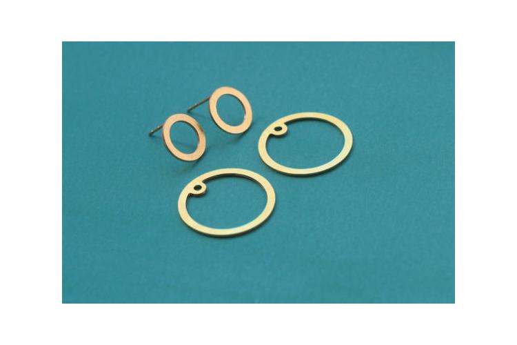 עגילי חפת עגולים, עגילי זהב עגולים מיוחדים צמודים לאוזן, עגילים כפולים, עגילי חישוק, עגילי עיגולים, עגילי זהב מיוחדים, עגילים צמודים