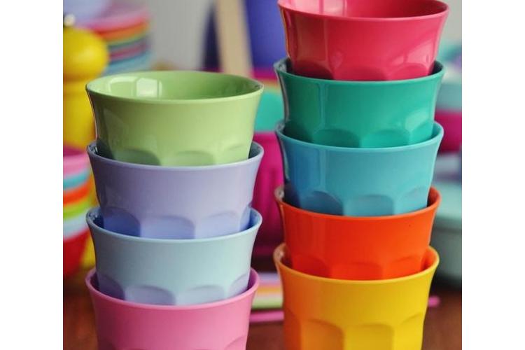 סט 4 כוסות מלמין גידי
