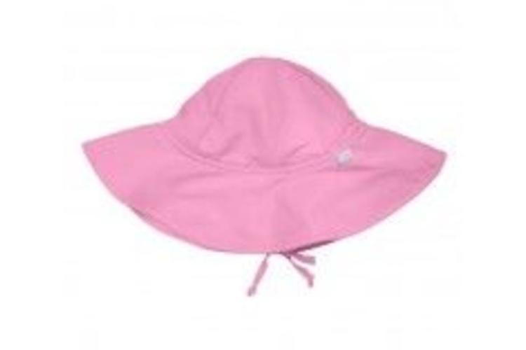 כובע רחב שוליים-ורוד בהיר