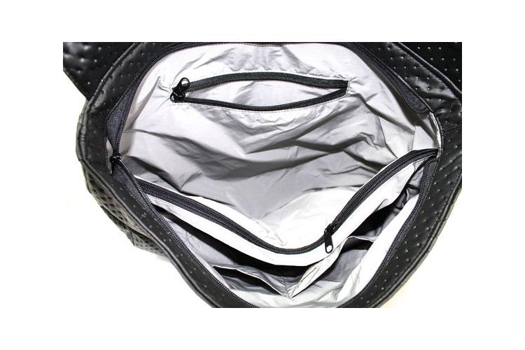 תיק גב| גאיה ילקוט שחור קפיטונאג' | תיק גב טבעוני |תיק גב גדול| משלוח חינם!!!