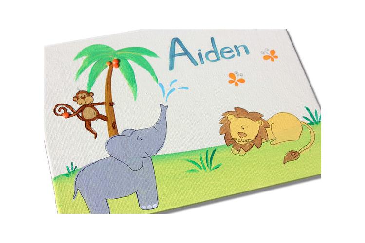 מתנה לתינוק שנולד. מתנה לחדר ילדים. שלט לחדר ילדים.