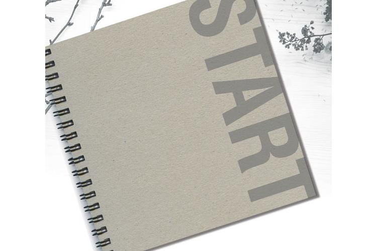 שנה טובה. מחברת מעוצבת אישית להתחלה חדשה | START | מחברת לשנה טובה | מחברת לרשימות | מחברת לתזכורות | יומן מחשבות טובות