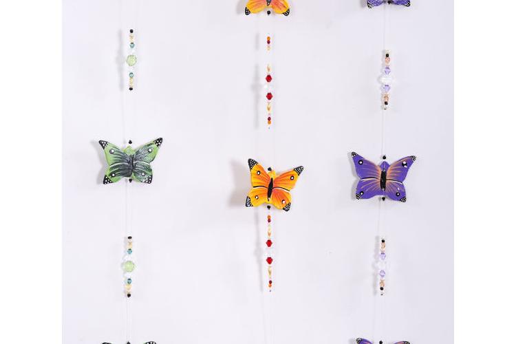 מובייל פרפרים, מובייל מדאס עם פרפרים, קישוט לתלייה פרפרים, מתנת תשומת לב, מתנה קטנה, מתנת סוף שנה
