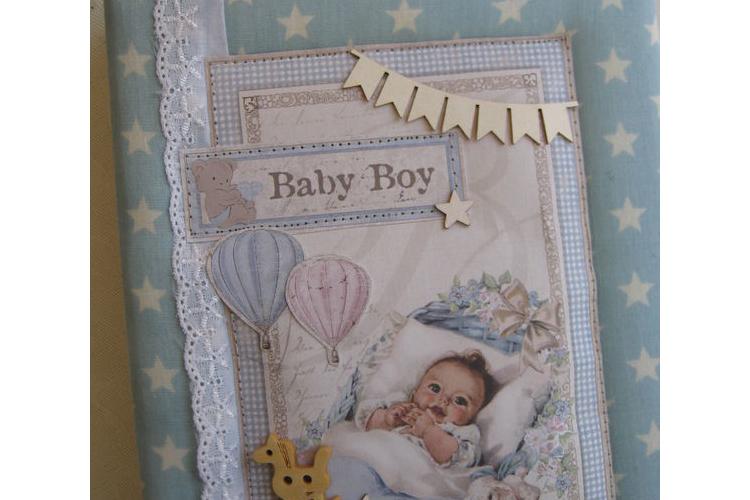מחברת מעוצבת יומן לתינוק מאמא באהבה
