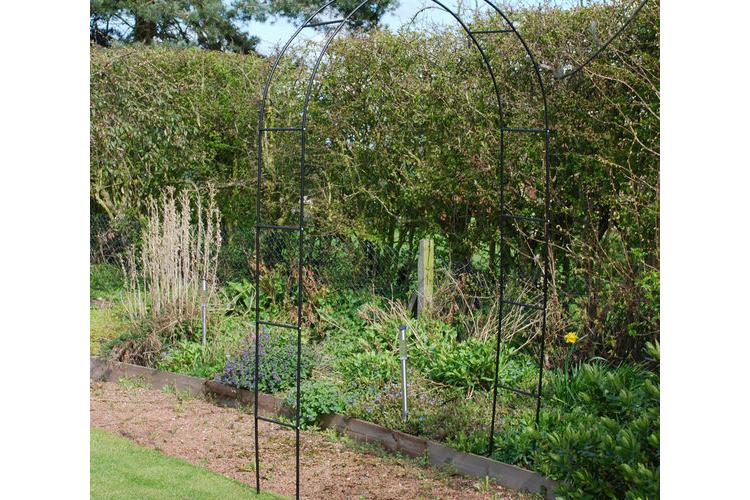 קשת/שער מטפסים לגינה
