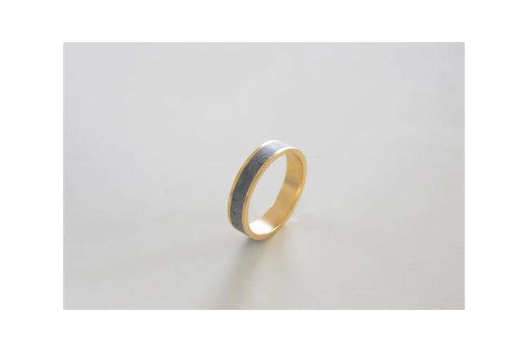 טבעת שייבה עגולה עם פס בטון פולימרי