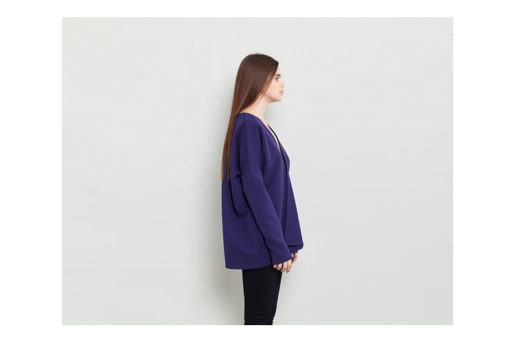 טופ לנשים , חולצה פלאס סייז , חולצה לחורף , חולצה ארוכה