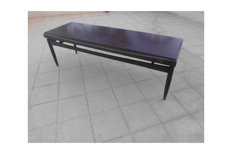 שולחן וינטאג לסלון שולחן מלבני וינטג שולחן פורמאיקה וינטאג שולחן צר וארוך 